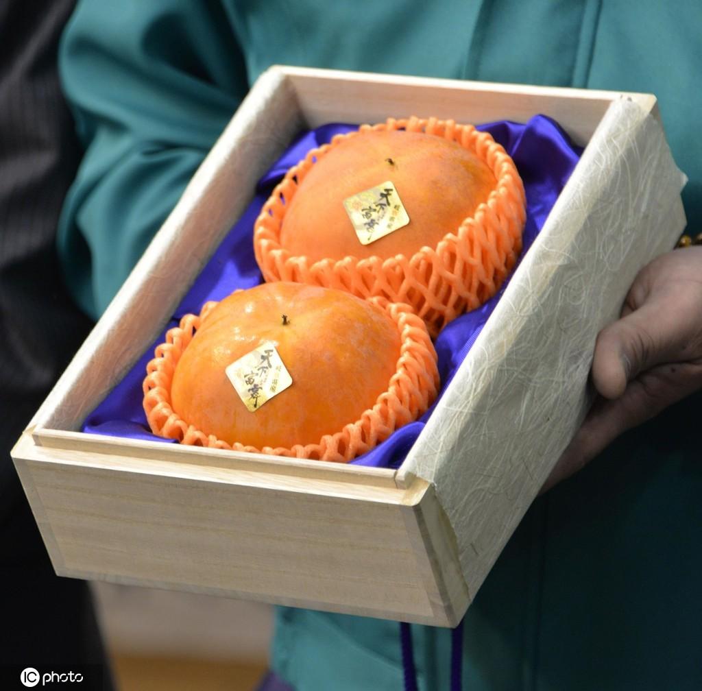 日本两个柿子拍出4.5万元高价,我们思考为什么?